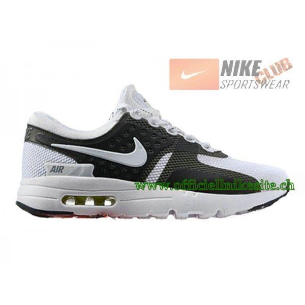 Nike Air Max Zero - Chaussure Mixte Nike Sportswear Pas Cher (Taille Homme)  Noir/Blanc-Boutique de Chaussure Nike France,Livraison Gratuite!