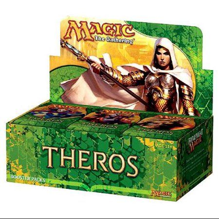 Magic The Gathering Theros Booster Box, Multicolor