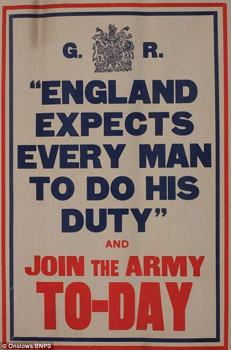 Glorious Adventure | A patriotic call to duty from the early days of the First World War