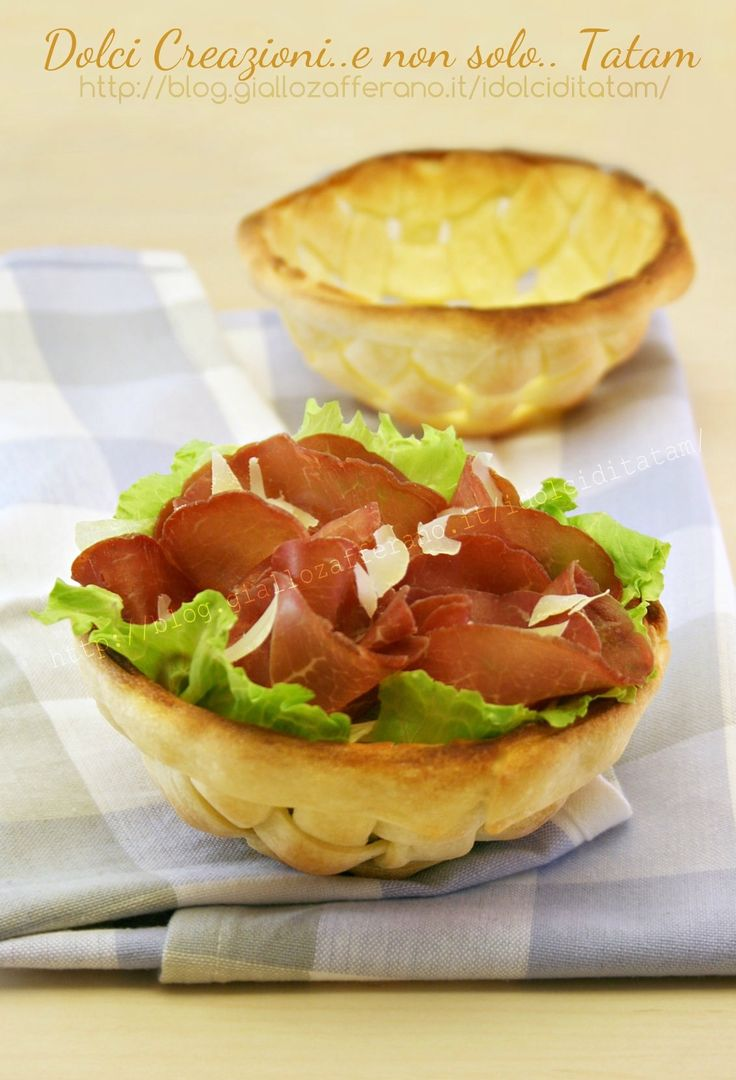 Cestini di pizza | come prepararli con il passo-passo