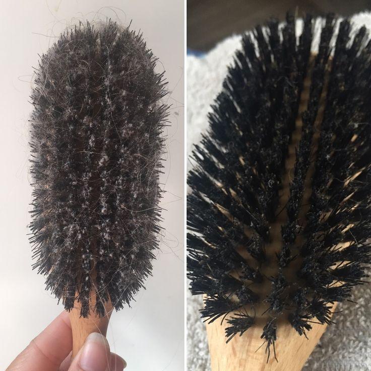 no poo, svinhårsborste, bbb, boar bristle brush, tvätt, rengöring, kemikalier, rent, honung, rengöringsmedel, hard core no poo, water only, sebum only, naturligt hår, naturligt ren, naturligt snygg