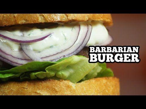 Hamburger caseiro de Kibe cru - Sanduba Insano - YouTube