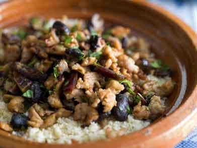 Pittige couscous met gehakt en champignons (Libelle Lekker!)