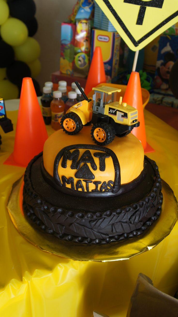 pastel de camiones | Fiesta camiones CAT en 2019 | Boy ...