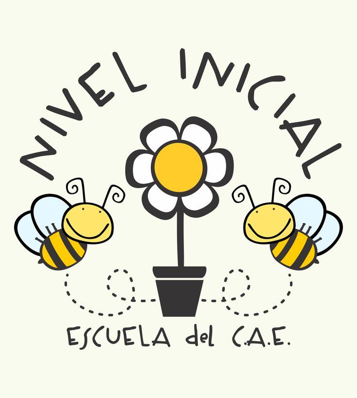 Escuela del CAE Logo Nivel Inicial 2015