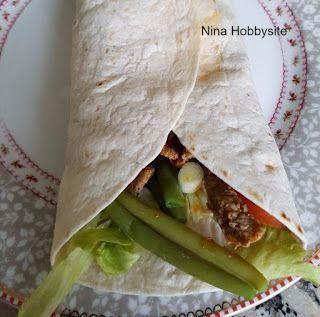 Recept: Wraps met rundvleesreepjes en sperziebonen - Nina Hobbysite