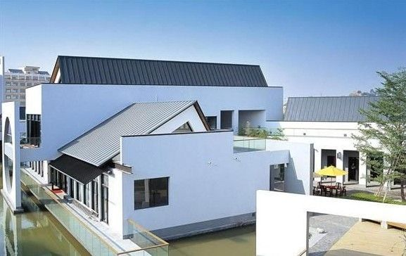 6 Agreeable Simple Ideas Copper Roofing Texture Roofing Materials Eco Friendly Gable Roofing Design Modern Roof Architecture Metal Shingle Roof Modern Roofing