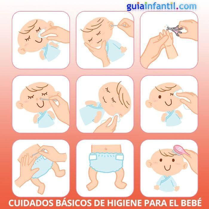 Los bebés necesitan una serie de cuidados ESENCIALES Y BÁSICOS, e aquí algunas sugerencias