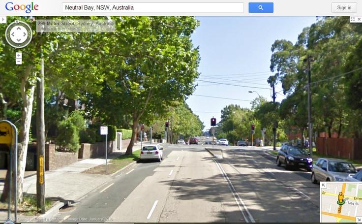 99Tasks.com - Concept - Outside view of Miller Street, Sydney, Australia
