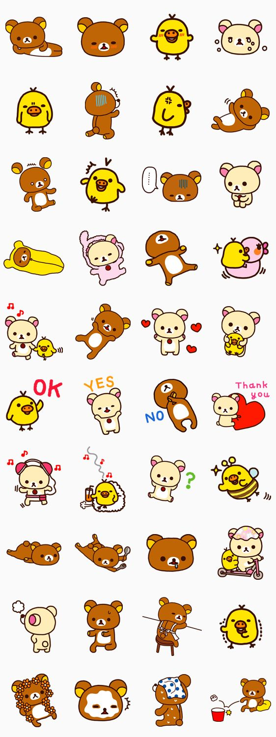 画像 - Rilakkuma by Imagineer Co.,Ltd. - Line.me