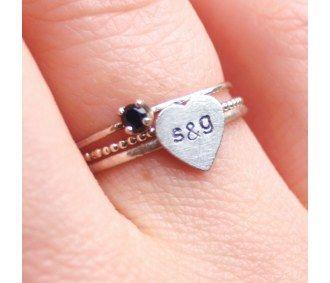 Custom Stacking Ring Set