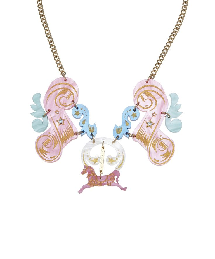 Carousel Horse Large Necklace, £95: http://www.tattydevine.com/carousel-horse-large-necklace