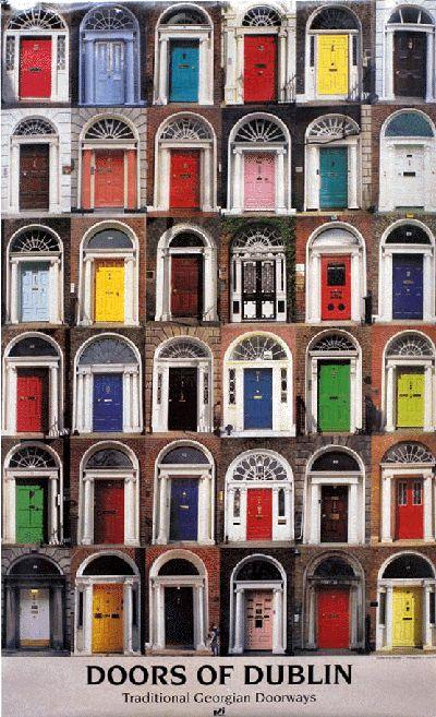 Doors Of Dublin Poster Door Posters And Multi Image