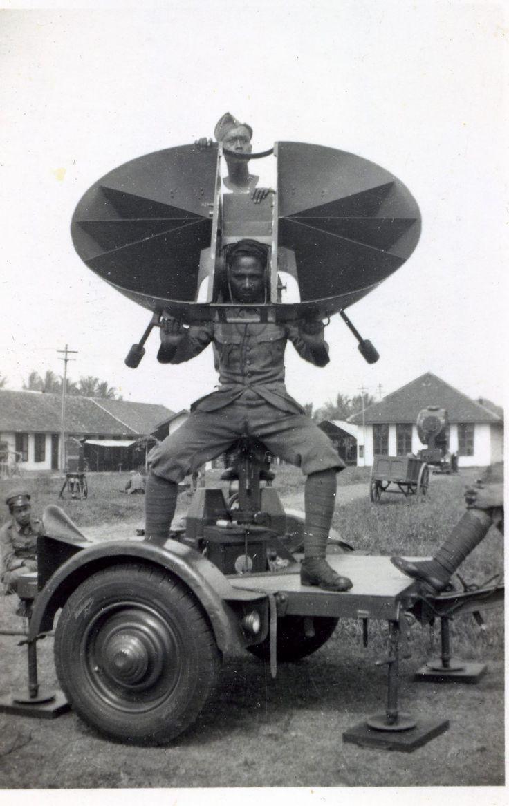 Luistertoestel KNIL Tjimahi 1940
