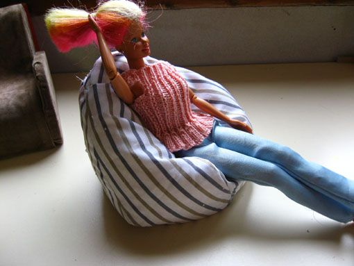 Free Pattern For A Barbie Beanbag Chair Fauteuilpoire2
