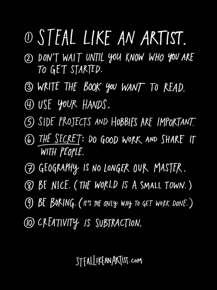 Austin Kleon: Artists, Inspiration, Life, Austinkleon, Quote, Book, 10 Things, Austin Kleon, Living