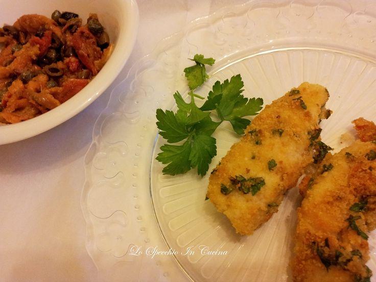 Merluzzo al forno , ricetta secondi di pesce