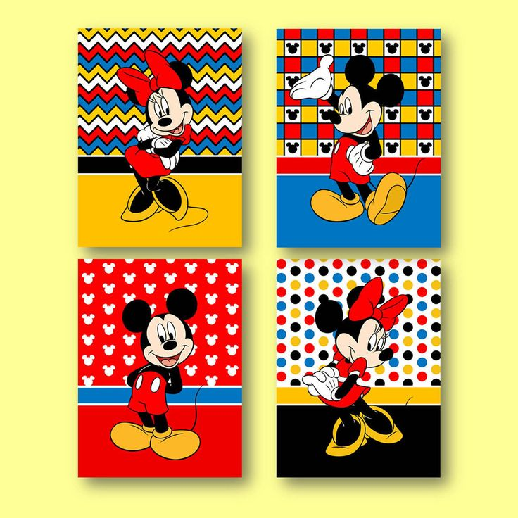 Mickey Mouse Wall Art 13 best mickey mouse minnie mouse kids wall art images on