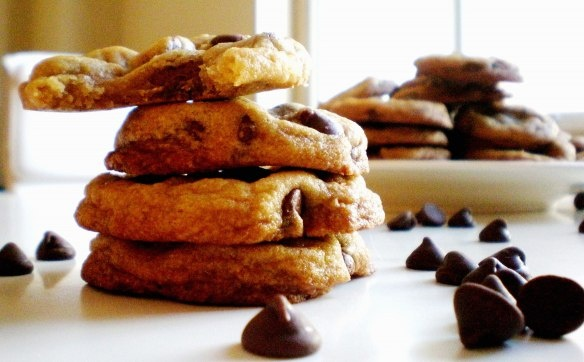 Chocolate Chip Cookies | Coconut Oil Chocolate, Chocolate Chip Cookies ...