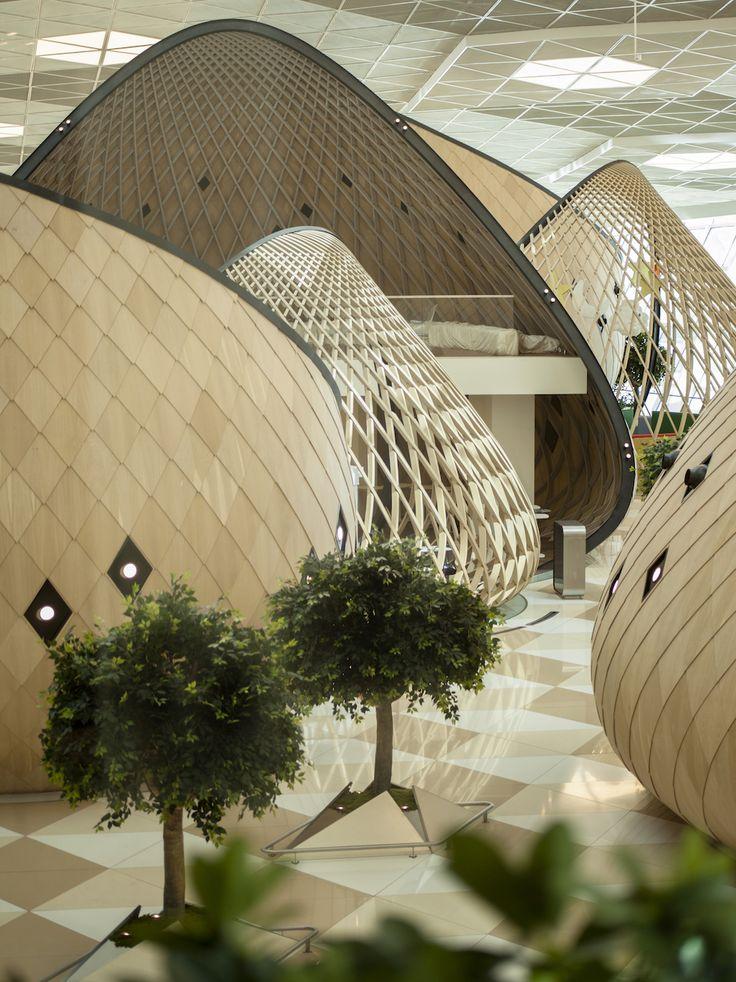 L'aéroport de Bakou   MilK decoration