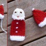 Weihnachtsmann-Fingerpuppe – Eine Anleitung