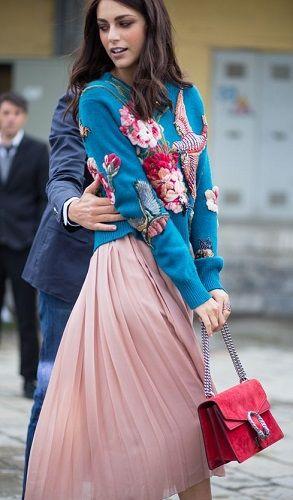 Плиссированная юбка: с чем ее носить? - В тренде - ИЛЬ ДЕ БОТЭ - магазины парфюмерии и косметики