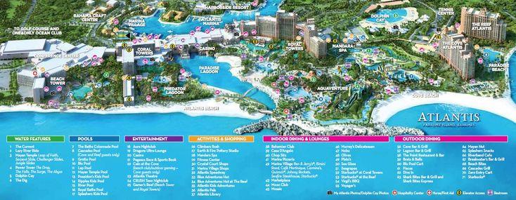atlantis bahamas map - Google Search   Groove Cruise MIA ...
