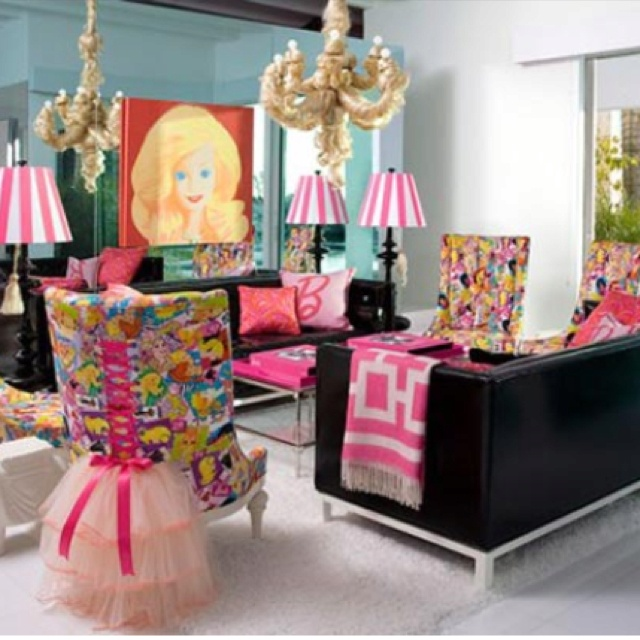 Barbie Room: Real Life Barbie Doll House Bedroom...something I Would