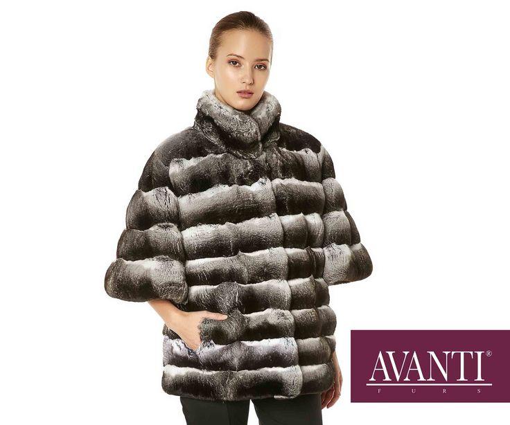 AVANTI FURS - MODEL: GINA CHINCHILLA JACKET #avantifurs #fur #fashion #mink #luxury #musthave #мех #шуба #стиль #норка #зима #красота #мода #topfurexperts