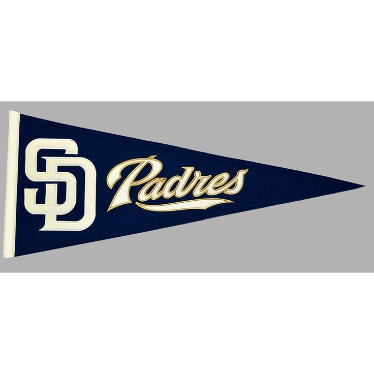 San Diego Padres MLB Traditions Pennant (13x32)