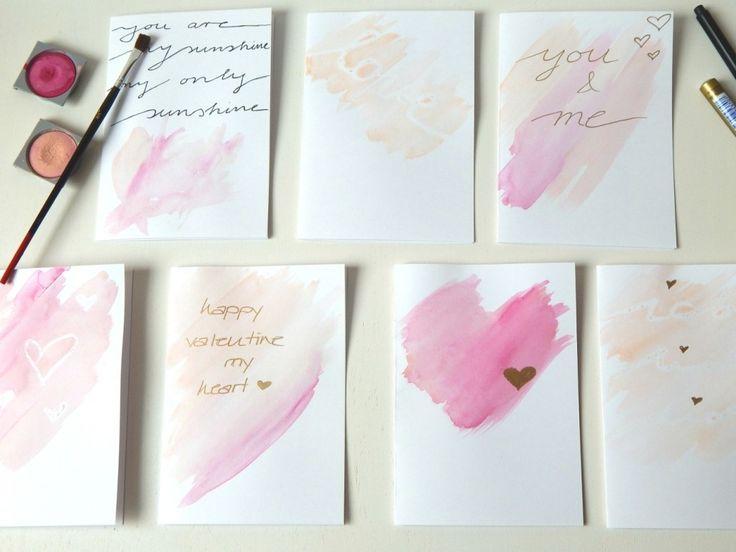 Valentinstagskarten - nett verpackt - verschenken und verpacken |