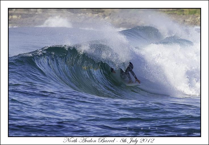Local in the barrel, Nth Avalon, Winter 2012