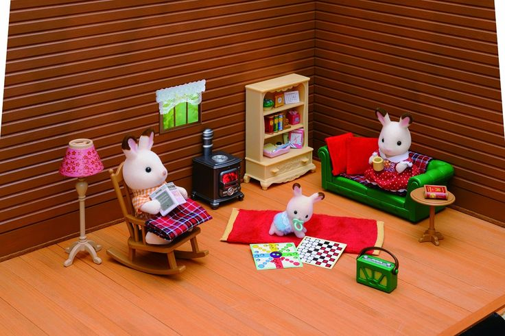 sylvanian families living room 16 best le petit monde des sylvanian images on 17108
