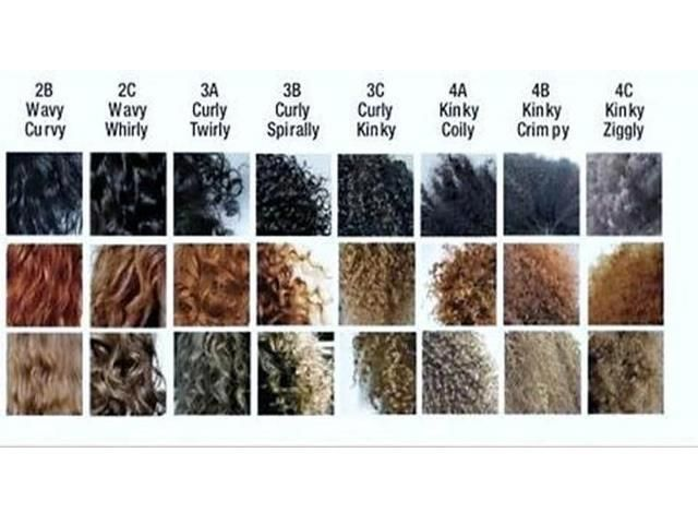 27 Best Images About Hair Type Chart On Pinterest