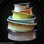 Ceramic hand painted bowls. Ceramiczne ręcznie malowane miseczki