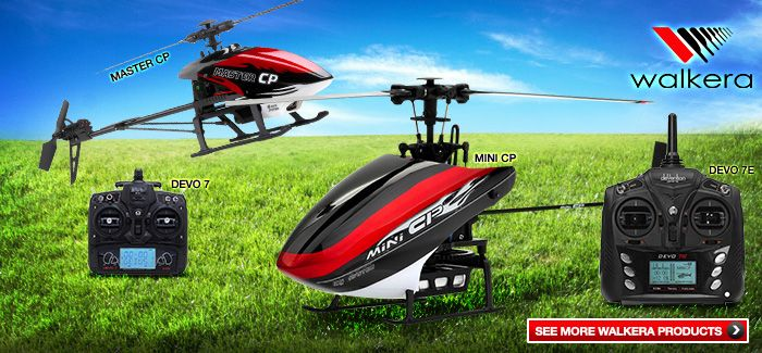 Summer's Most Popular Walkera Helicopters!