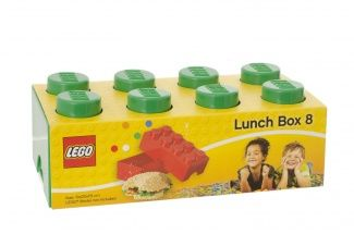 Carry your lunch and show your affection for the LEGO brick. The classic LEGO brick look makes it trendy for both children and adults.