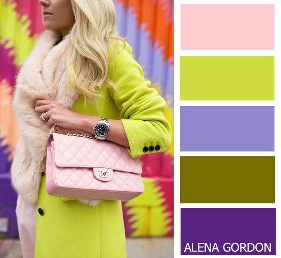 Популярные и яркие цветовые сочетания! 3