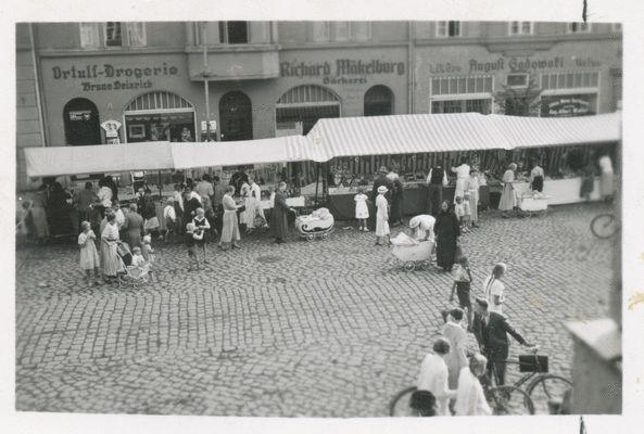 Ortelsburg, Wochenmarkt