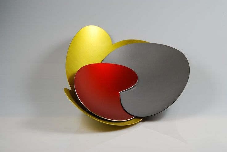 silver, red, yellow 2014 by MARIE HAGERTY & ROBERT FOSTER