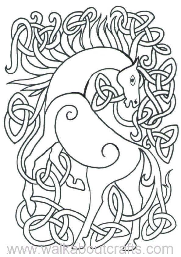 Celtic Designs Coloring Pages