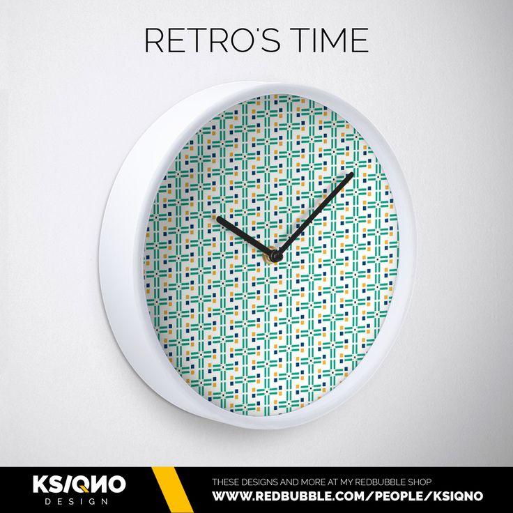 ¡Comienza la cuenta atrás, se acaba el 2016! Las prisas, las cenas, los compromisos #tictac #diciembre #finalcountdown #watches #relojes #retro #decoration #hogar #navidad2016 #decoracion #redbubble