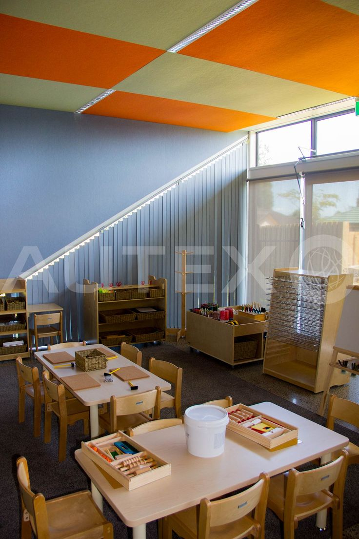 Autex Interior Acoustics - Composition® - Takanini Childcare Centre, Auckland, NZ - Colours: Porcelain - Acoustics in Education