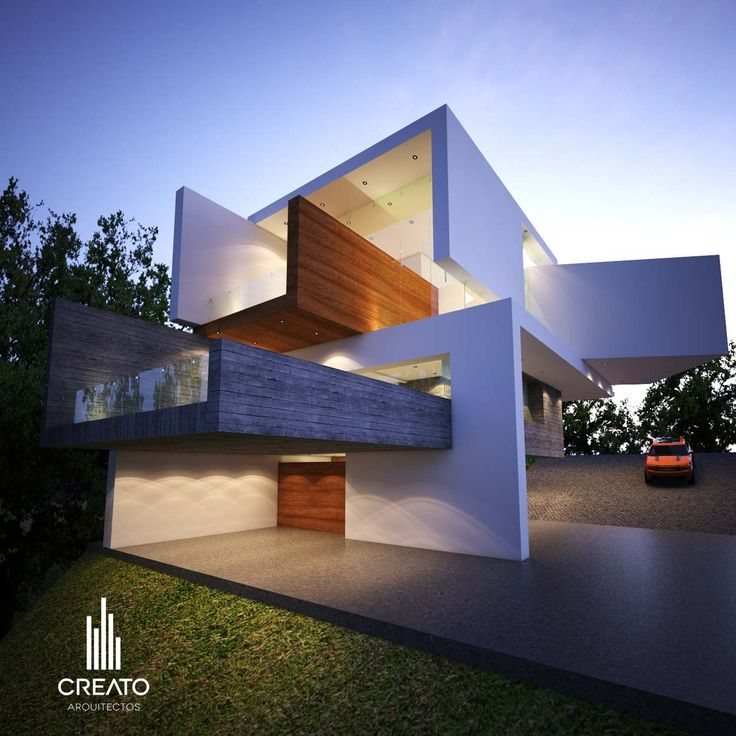 219 best modern villa design images on pinterest modern for Villas modernes architecture