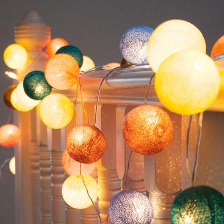 Carousel string lights
