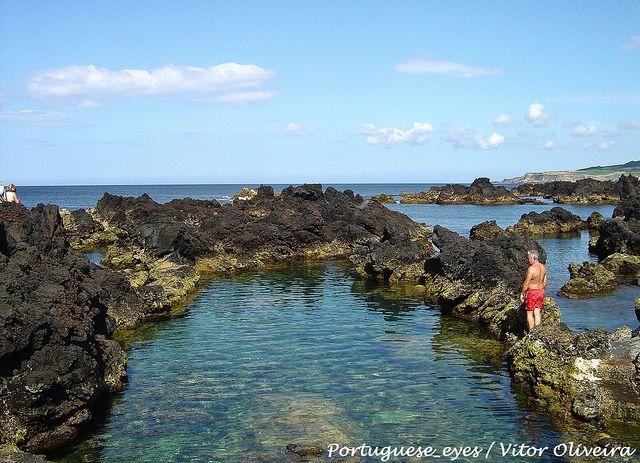 Ponta dos Biscoitos - Ilha Terceira, Azores, Portugal, via Flickr.