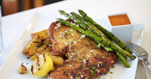 CHICKEN UNDER A BRICK  Macaroni Grill Copycat Recipe   Serves 4   1 whole 3- to 4-pound chicken, trimmed of excess fat, rinsed, dried and...