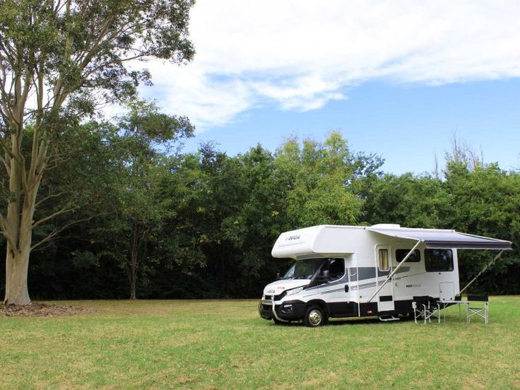 This is the Avida Ceduna C7184 motorhome featuring the optional Multi Terrain Pack which contains a host of options for those rougher roads.