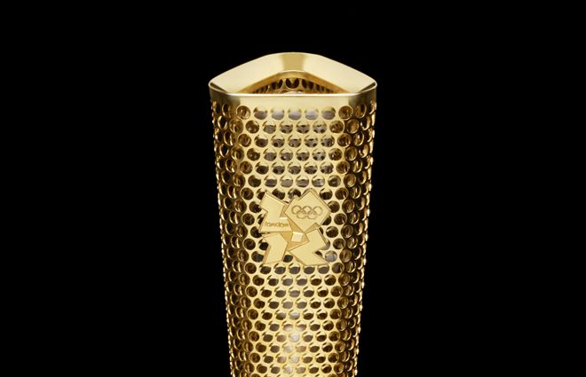 Olympic Torch/London 2012 Olympic Games | Date - 2011 Material - Aluminium Dimensions - 800 x 108