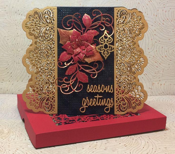 Seasons Greetings Christmas Card - Scrapbook.com